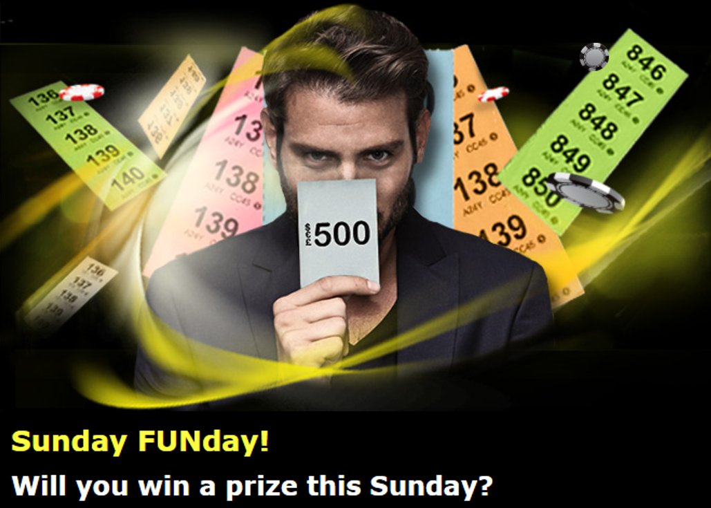 888 casino sunday bonus