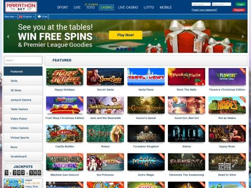 марафон букмекерская контора игровые автоматы казино