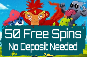 PlayAmo casino no deposit 50 free spins
