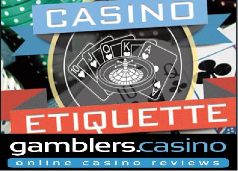 Casino craps etiquette