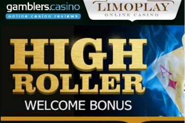 High Roller Welcome Bonus at Limoplay Casino