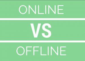 Online vs Offline Casinos