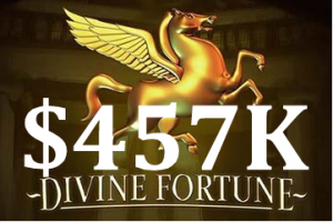 Jackpot at Divine Fortune