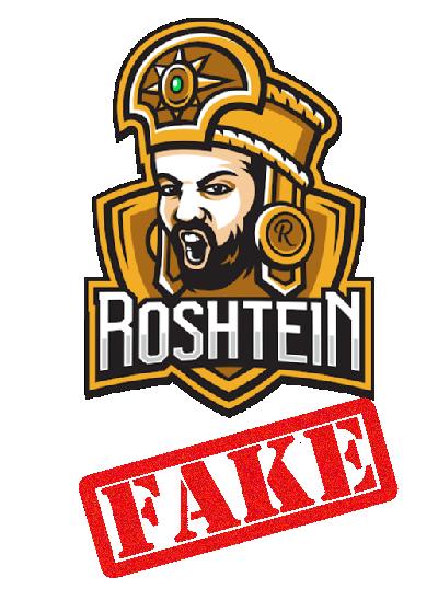 Roshtein - Fake casino streamer