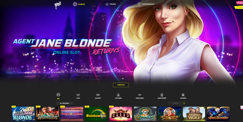 Booi Casino official site