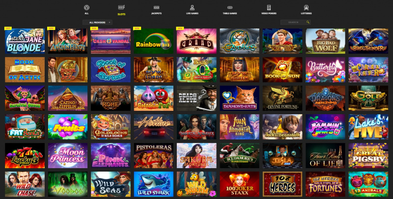 Booi Casino slots