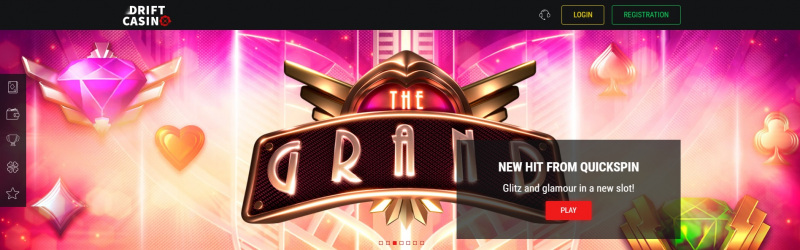 Drift Casino official site