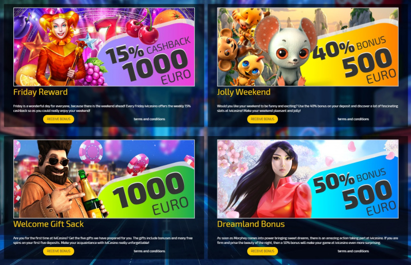 ivi casino promotions