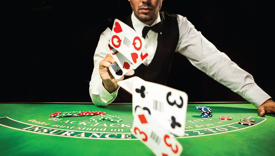 black jack dealer earns