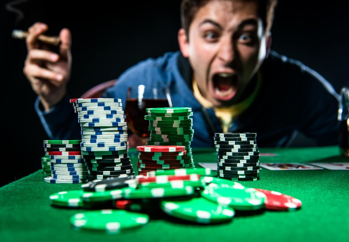 Signs of gambling addiction