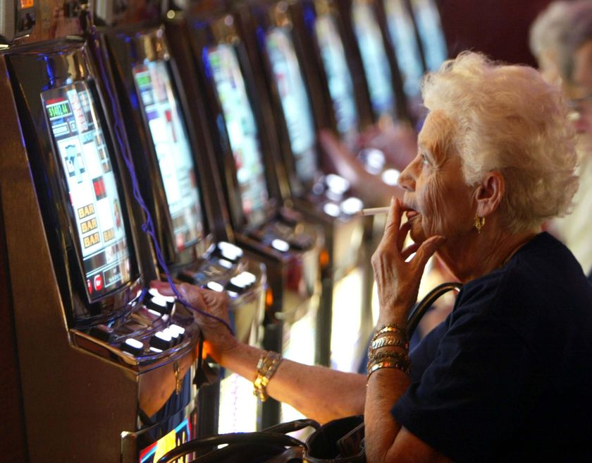 Slot machines- the games for pensioners