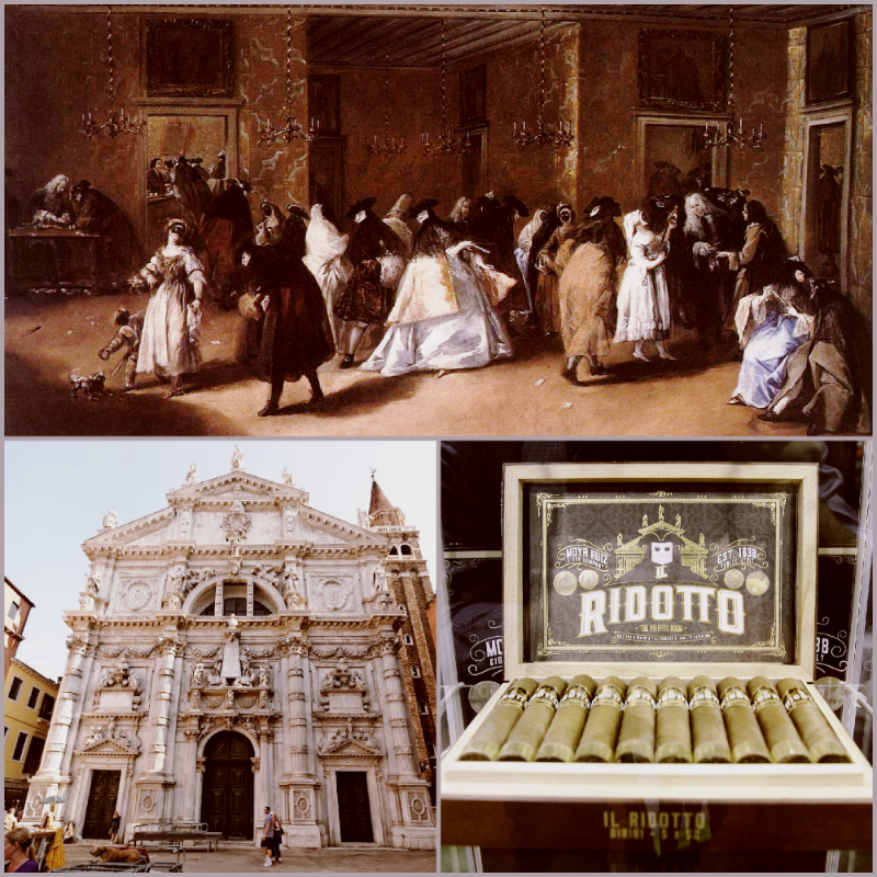 The first Italian gambling house