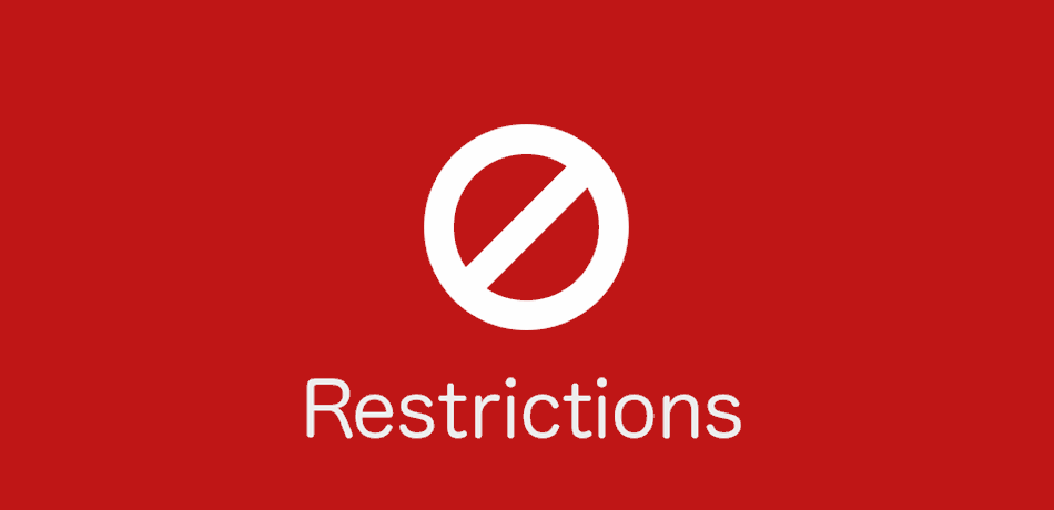 restrictions on advertising